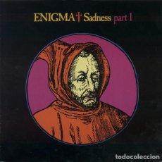 Discos de vinilo: ENIGMA - SADENESS PART I - MAXI-SINGLE UK 1990. Lote 191393096