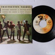 Discos de vinilo: LES CHAUSSETTES NOIRES - MADAME, MADAME + 3 - BARCLAY BCGE 28309 (1961). Lote 191393673