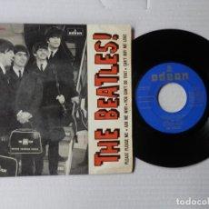 Discos de vinilo: THE BEATLES - EP - PLEASE PLEASE ME + 3 - ODEON DSOE 16.590 (1964). Lote 191394912