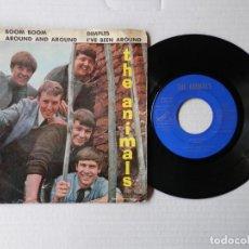 Discos de vinilo: THE ANIMALS - EP - BOOM BOOM + 3 - EMI 7EPL 14.149 (1965). Lote 191395943
