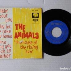 Discos de vinilo: THE ANIMALS - EP - THE HOUSE OF THE RISING SUN' - EMI 7EPL 14.100 (1964). Lote 191396868