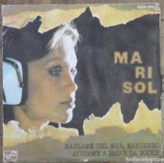Discos de vinilo: MARISOL. HÁBLAME DEL MAR, MARINERO. ZAFIRO, OOX-299. 1976. FUNDA VG+. DISCO VG+.. Lote 191398188