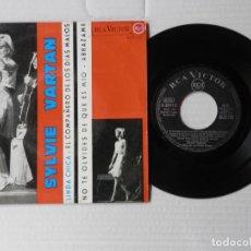 Discos de vinilo: SYLVIE VARTAN - EP - LINDA CHICA + 3 - RCA 3-20910 (1965). Lote 191399545