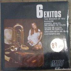 Discos de vinilo: 6 ÉXITOS. MIDI, 227.101. 1970. FUNDA VG++. DISCO VG++.. Lote 191399707