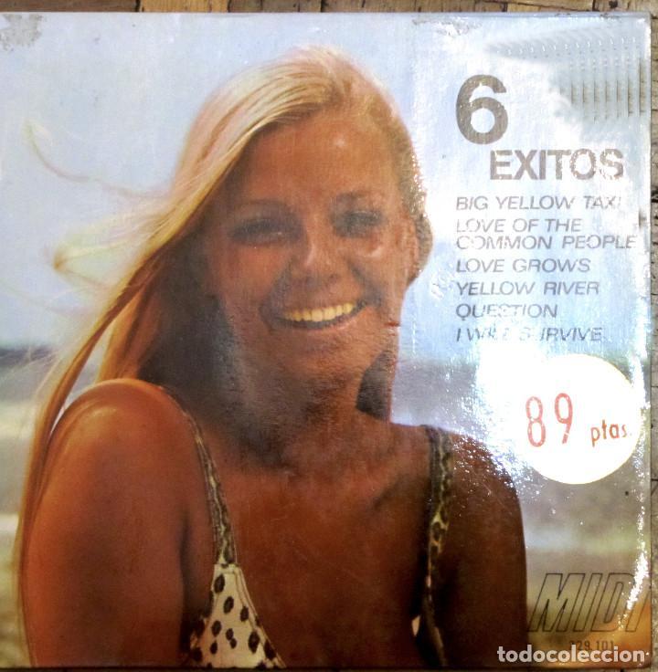 6 ÉXITOS. MIDI, 229.101. 1970. FUNDA VG++. DISCO VG++. (Música - Discos de Vinilo - EPs - Solistas Españoles de los 50 y 60)