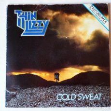 Discos de vinilo: DOBLE SINGLE DE THIN LIZZY: COLD SWEAT. AÑO 1981. Lote 191400225