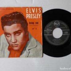 Discos de vinilo: ELVIS PRESLEY - EP - LOVING YOU + 3 - RCA 75 406 - FR.. Lote 191401365