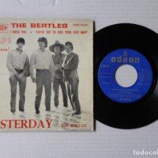 Discos de vinilo: THE BEATLES - EP - (HELP) YESTERDAY + 3 - ODEON DSOE 16.676 (1965). Lote 191403088
