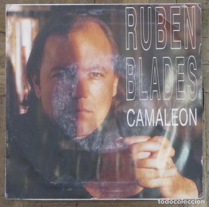 RUBEN BLADES - CAMALEON - PROMOCIONAL EPIC, ARIE-3007. 1991. FUNDA VG+. DISCO VG++ (Música - Discos - Singles Vinilo - Grupos y Solistas de latinoamérica)