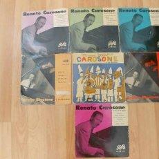 Discos de vinilo: RENATO CAROSONE-LOTE DE 7 EPS,. Lote 191405383