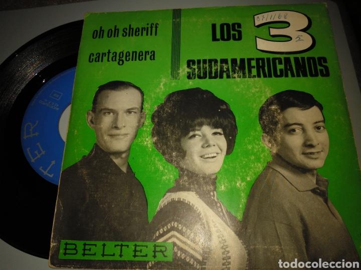 Discos de vinilo: Los 3 sudamericanos - Foto 2 - 191412330