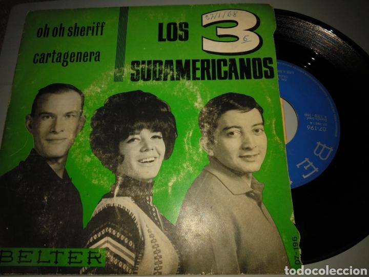 LOS 3 SUDAMERICANOS (Música - Discos - Singles Vinilo - Grupos y Solistas de latinoamérica)