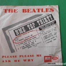 Discos de vinilo: THE BEATLES-PLEASE PLEASE ME UNICO. Lote 191412486