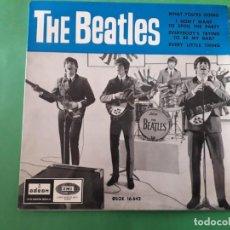 Discos de vinilo: THE BEATLES-WHAT YOURE DOING LA VOZ DE SU AMO PRIMERA EDICION UNICO. Lote 191413281