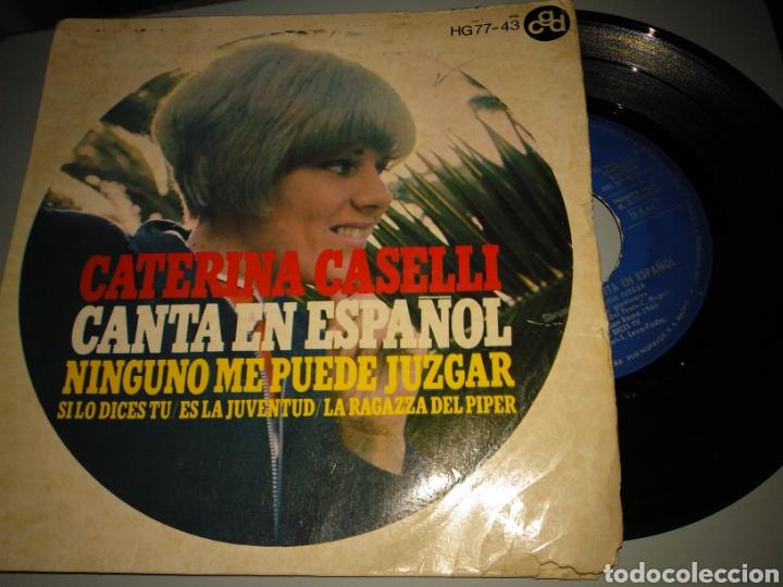 CATERINA CASELLI (Música - Discos de Vinilo - EPs - Canción Francesa e Italiana)