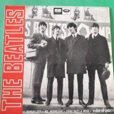 Discos de vinilo: THE BEATLES-KANSAS CITY. Lote 191414957