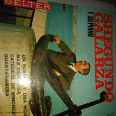 Discos de vinilo: SHEGUNDO GALARZA. Lote 191416966