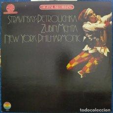 Discos de vinilo: STRAVINSKY* /ZUBIN MEHTA/NEW YORK PHILHARMONIC*_–PETROUCHKA. Lote 191461090