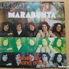 Discos de vinilo: MARABUNTA - LONELY LILY (SG) 1971 PROMO!!!!!. Lote 191462078