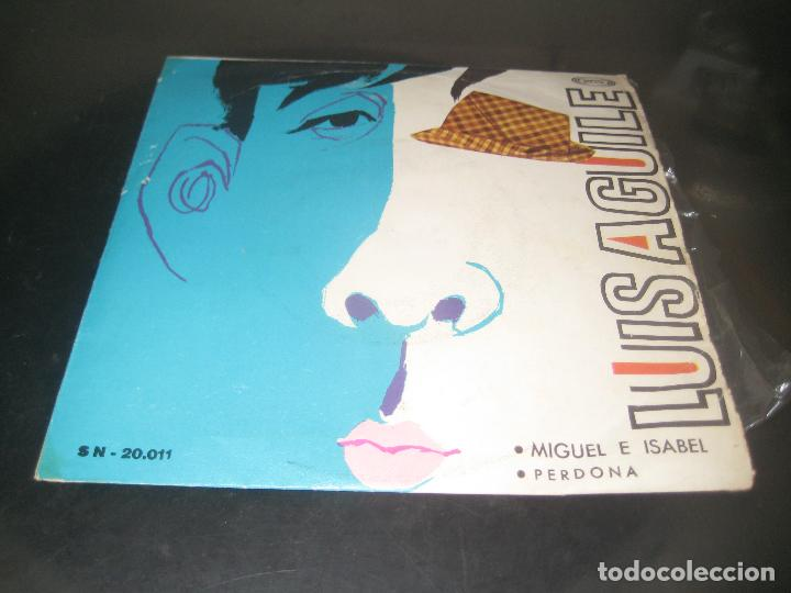 LUIS AGUILE - MIGUEL E ISABEL 1966 SINGLE (Música - Discos - Singles Vinilo - Grupos y Solistas de latinoamérica)