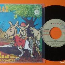 Discos de vinilo: ALCATRAZ SERENATA DE LAS MULAS/A MAGIC SENSATION NOVOLA 1976. Lote 191474920