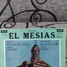 Discos de vinilo: HAENDEL - EL MESIAS. Lote 191477868