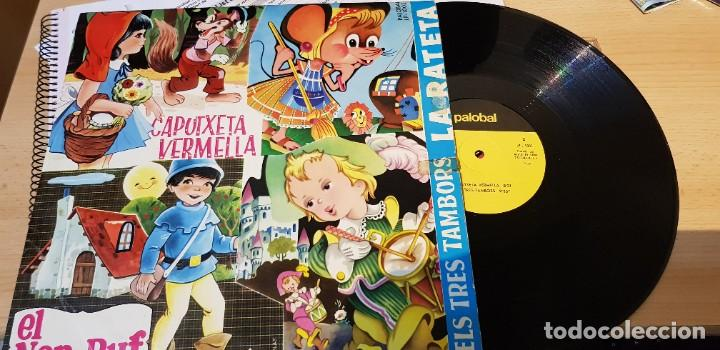 CAPUTXETA VERMELLA, EL NAP BUF, LA RATETA I ELS TRES TAMBORS. (Música - Discos - LPs Vinilo - Música Infantil)