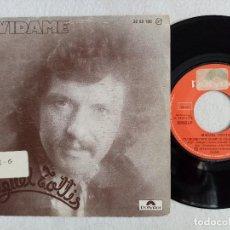 Discos de vinilo: MIGUEL TOTTIS - OLVÍDAME / LA AMISTAD - SINGLE 1976 - POLYDOR. Lote 191483943