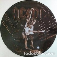 Discos de vinilo: AC/DC – STIFF UPPER LIP -LP PICTURE-. Lote 243869480