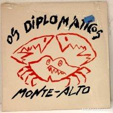 Disques de vinyle: OS DIPLOMÁTICOS DE MONTE-ALTO - ARROUTADA PANGALICA. Lote 191486965