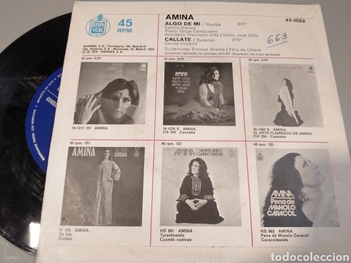 Discos de vinilo: Amina - Foto 2 - 191489018