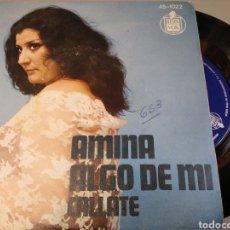Discos de vinilo: AMINA. Lote 191489018