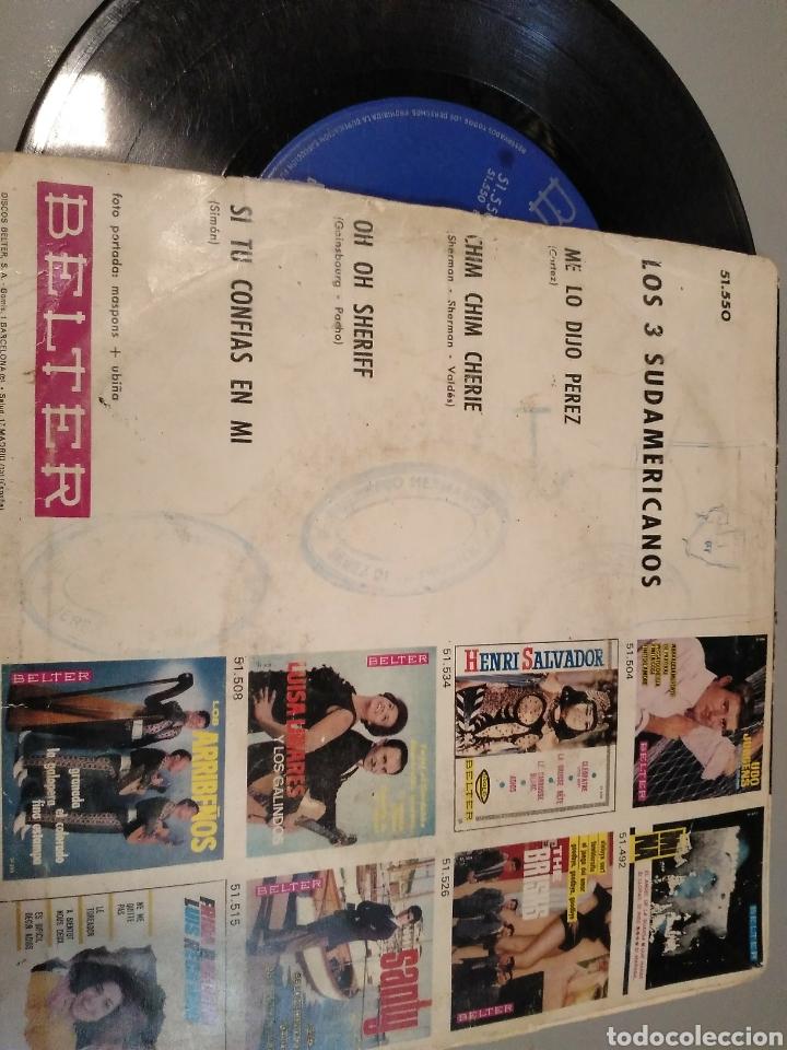 Discos de vinilo: Los tres sudamericanos - Foto 2 - 191490425
