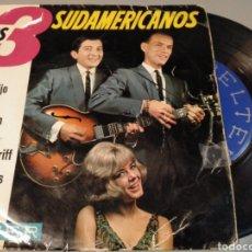 Discos de vinilo: LOS TRES SUDAMERICANOS. Lote 191490425