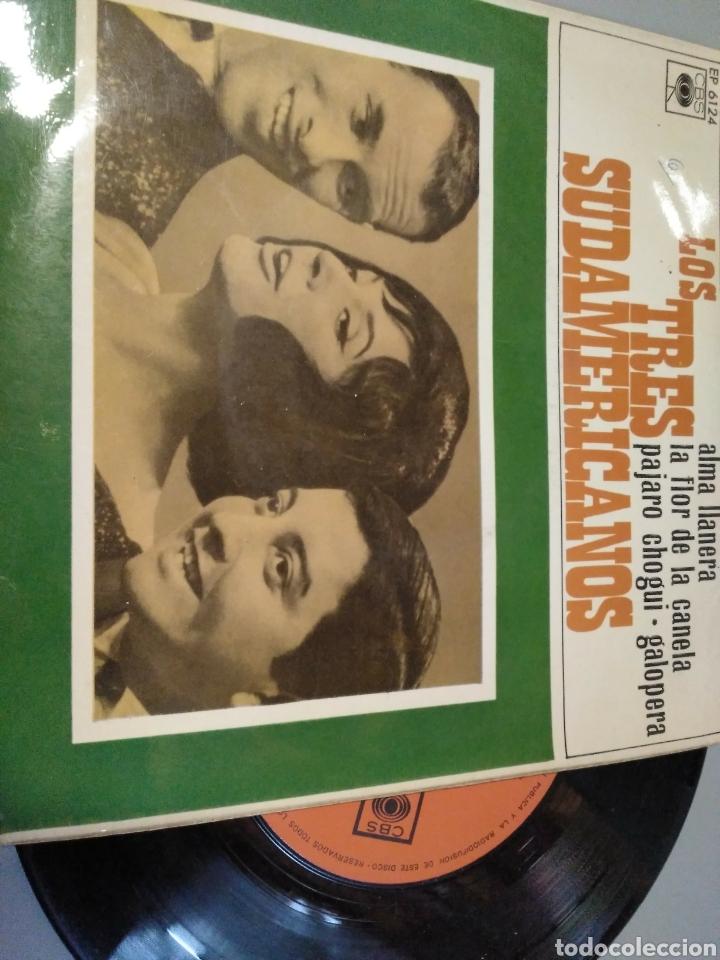 LOS TRES SUDAMERICANOS (Música - Discos de Vinilo - EPs - Grupos y Solistas de latinoamérica)