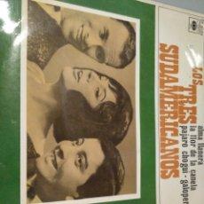 Discos de vinilo: LOS TRES SUDAMERICANOS. Lote 191490595