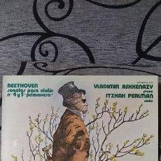Discos de vinilo: BEETHOVEN*_–SONATAS PARA VIOLÍN, NUM. 4 Y 5. Lote 191492800
