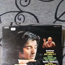Discos de vinilo: BEETHOVEN* -VLADIMIR ASHKENAZY,CHICAGO SYMPHONY ORCHESTRA*,SIR GEORG SOLTI*_?PIANO CONCERTO NO.. Lote 191492802