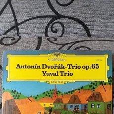 Discos de vinilo: ANTONIN DVORAK TRIO OP65 YUVAL TRIO. Lote 191492873