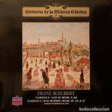 """Discos de vinilo: SCHUBERT*,CUARTETO FILARMÓNICO DE VIENA*_–CUARTETO Nº 14 EN RE MENOR, OP. POSTH. D 810 """"""""LA MUERT. Lote 191477285"""