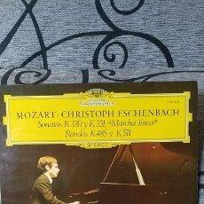 """Discos de vinilo: MOZART CHRISTOPH ESCHENBACH SONATAS K330 Y K331 """"""""MARCHA TURCA"""""""" RONDOS K485 Y K511. Lote 191492847"""