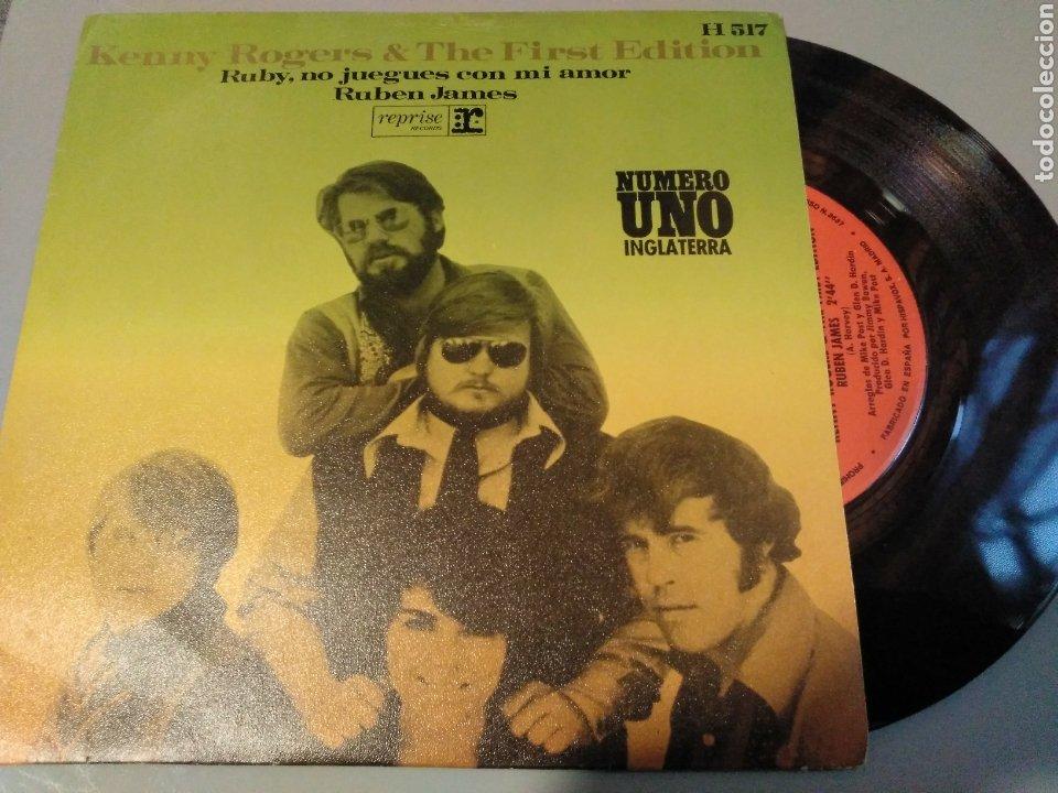 KENNY ROGERS (Música - Discos - Singles Vinilo - Pop - Rock Extranjero de los 50 y 60)