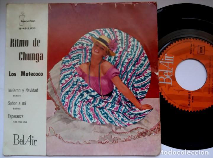 LOS MATECOCO - RITMO DE LA CHUNGA - EP 1960 - BEL -AIR (Música - Discos de Vinilo - EPs - Grupos y Solistas de latinoamérica)