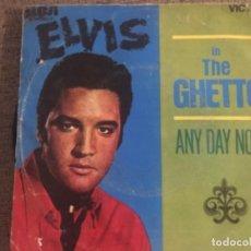 Discos de vinilo: ELVIS: IN THE GHETTO. Lote 191496045