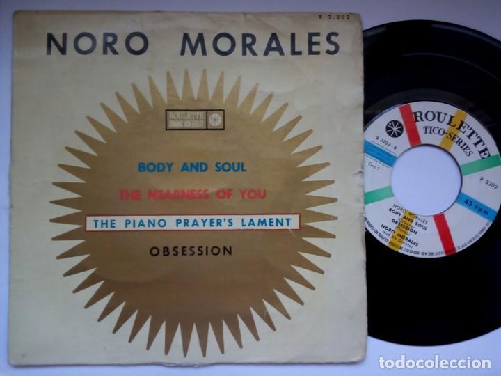 NORO MORALES - BODY AND SOUL - EP 1960 - ROULETTE (Música - Discos de Vinilo - EPs - Grupos y Solistas de latinoamérica)