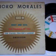 Discos de vinilo: NORO MORALES - BODY AND SOUL - EP 1960 - ROULETTE. Lote 191497372