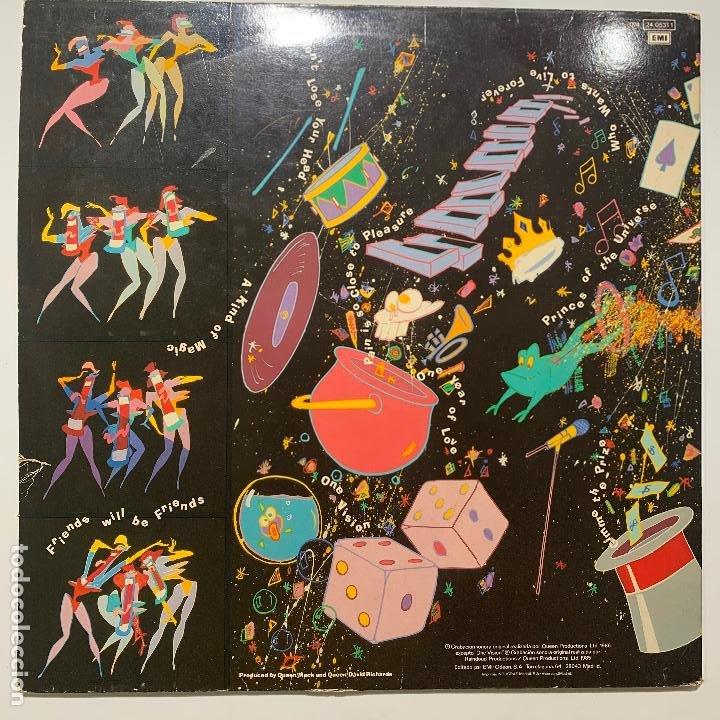 Discos de vinilo: lp gatefold queen a kind of magic edicion española de 1986 - Foto 3 - 191498342