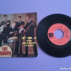 Discos de vinilo: EP. THE SHADOWS. F.B.I/MIDNIGHT/MAN OF MYSTERY/THE STRANGER.SELLO COLUMBIA.ESRF 1432.AÑO 1963.FRANCE. Lote 191498796