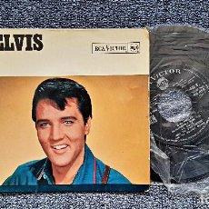 Discos de vinilo: ELVIS PRESLEY - INDESCRIBABLY BLUE / FOOLS FALL IN LOVE. EDITADO EN FRANCIA POR RCA . AÑO 1.966.. Lote 191502938