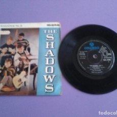 Discos de vinilo: MUY DIFICIL.EP.MONO 1961 UK.THE SHADOWS.THE SHADOWS NO. 2.SHADOOGIE/NIVRAM + 2. COLUMBIA SEG 8148. Lote 191503387
